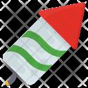 Cartoon Firecracker Birthday Icon