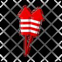 Firecracker Birthday Celebration Icon