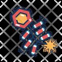 Firecracker Culture Celebration Icon