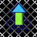 Firecracker Cracker Rocket Icon