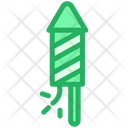 Rocket Firework Explode Icon
