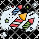 Rocket Celebration Festival Icon