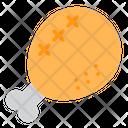 Fired chicken Icon