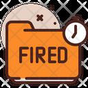 Fired Folder Fired Folder Icon