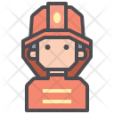 Firefighter Fireman Guardian Icon