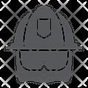 Firefighter Helmet Equipment Icon