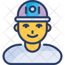 Fire Firefighter Man Icon