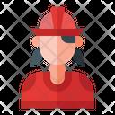 Firefighter Avatar Profession Icon