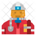 Rescue Fireman Firefighter Icon