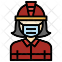 Firefighter Professions People Icon
