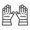 Firefighter gloves Icon