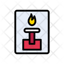 Fire Fighter Flame Icon