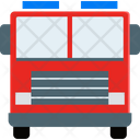 Firefighter Truck Emergency Vehicle Fire Vehicle Icon
