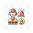Firefighters Firefighter Emergency Icon