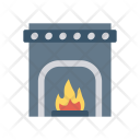 Firehouse Flame Chimney Icon