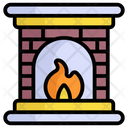 Firehouse Emergency Flame Icon