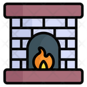 Firehouse Flame Winter Icon
