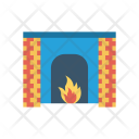 Firehouse Flame Light Icon