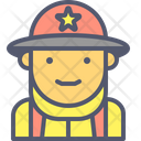 Fireman Firefighter Fire Icon