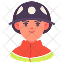 Fireman Man Avatar Icon