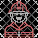 Fireman Avatar Jobs Icon