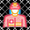 Fireman Profession Professions Icon