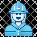 Fireman Firefighter Icon