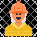 Fireman Emergency Firefighter Icon