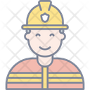 Firemen Fire Security Icon