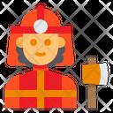 Firemwoan Firefighter Avatar Icon