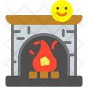 Fireplace Fire Heat Icon