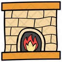 Campfire Woodfire Fireplace Icon