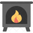 Fireplace Chimney Room Icon