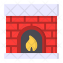 Fireplace Fire Chimney Icon