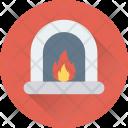 Room Stove Heating Icon