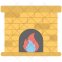 Fireplace Grate Home Icon