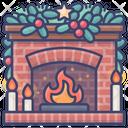 Brick Christmas Xmas Icon