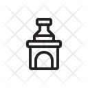 Furnace Fireplace Fire Icon