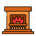 Fireplace Chimney Warm Icon