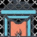 Fireplace Fire Chimney Chimney Icon