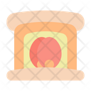 Fireplace Fire Interior Icon