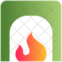 Heater Fire Fireplace Icon
