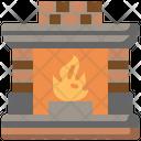 Fireplace Interior Room Icon