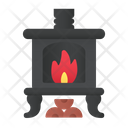 Heater Fireplace Fire Icon