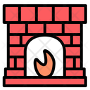 Fireplace Fireplaces Winter Icon