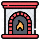 Fireplace Chimney Firewall Icon