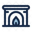 Fireplace Fire Place Place Icon