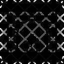 Fireplace Firewall Brick Icon