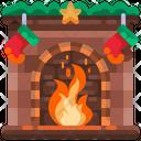 Fireplace Fireplace Warm Icon