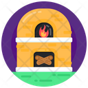 Hearth Fireplace Fire Pit Icon